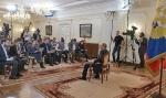 Pressekonferenz Vladimir Putins zur Kirse in der Ukraine