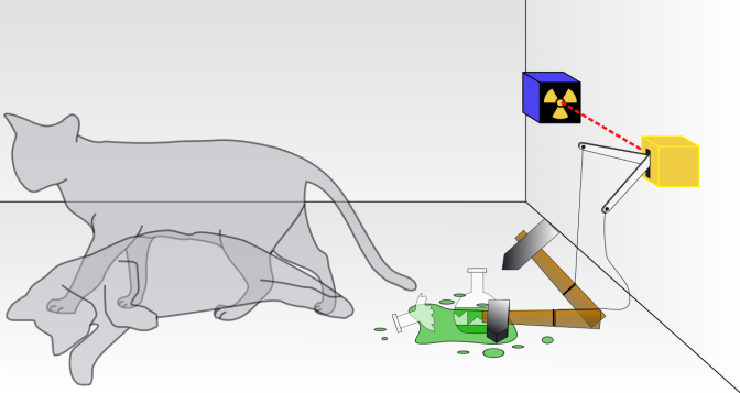 Wikipedia IV: Schrödinger's cat in popular culture