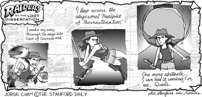 PhD Comics III: Jäger der verlorenen Dissertation