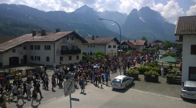 G7 Gipfel Elmau: Bilder aus Garmisch-Partenkirchen